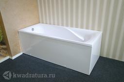 Каменная ванна Aqua de Marco Мира белая 180*80