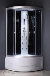 Душевая кабина ODA 8804 тонированное стекло 90*90 см
