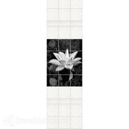 Стеновая панель ПВХ Novita Тайна (панно состоит из 3 шт)