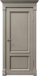 Дверь межкомнатная Дверной вопрос Рим ПДО 80002 серебро Серена каменный