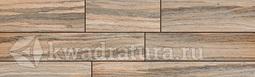 Напольная плитка InterCerama BOSCO темно-коричневый 15*50 см
