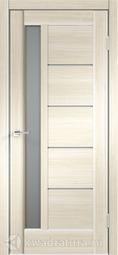 Межкомнатная дверь Velldoris (Веллдорис) PREMIER 3 Ясень японский, стекло мателюкс
