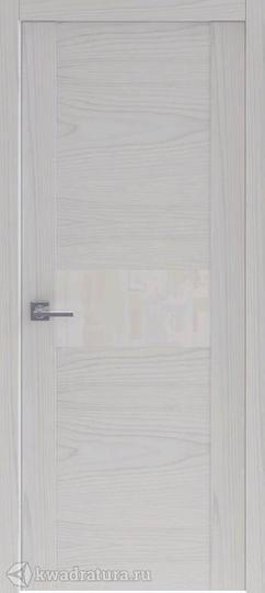 Межкомнатная дверь Океан Рона 3 глухое ясень серый