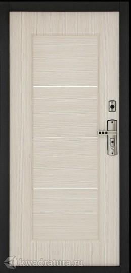 Дверь входная металлическая Форпост С-128 Беленый дуб
