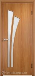 Дверь межкомнатная Дера Лагуна миланский орех