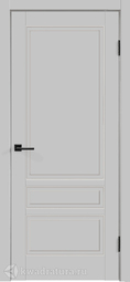 Межкомнатная дверь Velldoris (Веллдорис) SCANDI 3P светло-серый, глухая