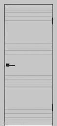 Межкомнатная дверь Velldoris (Веллдорис) SCANDI N светло-серый, глухое