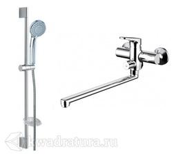 Набор для ванной 2 в 1 BRAVAT ELER F00449CP