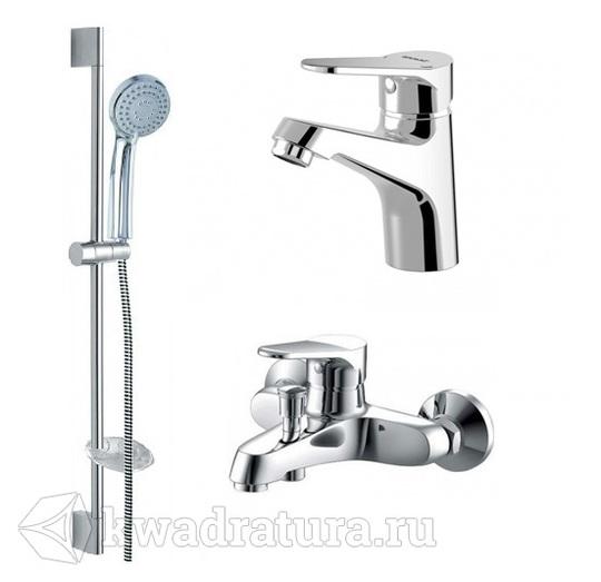 Набор для ванной 3 в 1 BRAVAT ECO F00313C