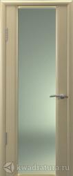 Межкомнатная дверь Океан Шторм-3 Беленый дуб с/о белое
