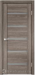 Межкомнатная дверь Velldoris (Веллдорис) CITY 7 Дуб Анкор Эш, стекло мателюкс