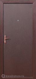 Дверь входная металлическая Стройгост 5-1 ВНУТРЕННЕЕ ОТКРЫВАНИЕ металл/металл