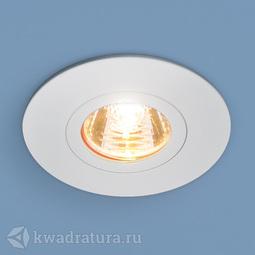 Встраиваемый точечный светильник Elektrostandard 2100 белый