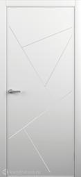 Межкомнатная дверь Фрегат (ALBERO) Тау белое глухое