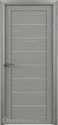 Межкомнатная дверь ALBERO (Фрегат) T-1 ясень дымчатый