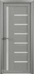 Межкомнатная Дверь ALBERO (Фрегат) T-3 ясень дымчатый