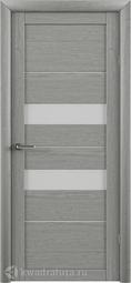 Межкомнатная дверь ALBERO (Фрегат) T-4 ясень дымчатый
