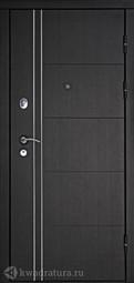 Дверь входная металлическая Дверной континент Тепло-Люкс Венге