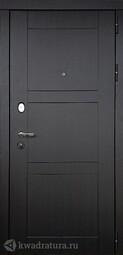 Дверь входная металлическая Дверной континент Тепломакс Беленый дуб