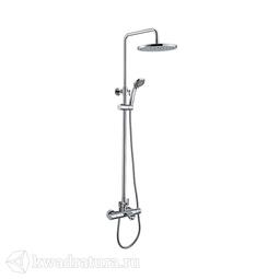 Cмеситель для ванны с термостатом и верхним душем Iddis Thermolife THESBBTi06