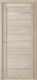 Межкомнатная дверь Фрегат (ALBERO) Т-2 акация кремовая, стекло мателюкс