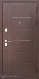 Дверь входная металлическая Феррони Троя Белый ясень
