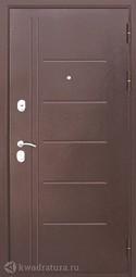 Дверь входная металлическая Феррони Троя Венге
