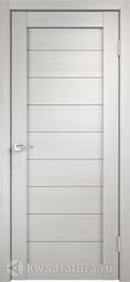 Межкомнатная дверь Velldoris (Веллдорис) Уника 0 дуб белый, глухое