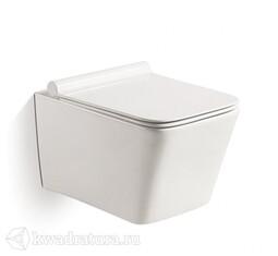 Унитаз подвесной GROSSMAN GR-4441us сиденье дюропласт, микролифт, 520*360*350, белый