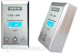 Терморегулятор накладной UTH-200 (4кВт) Серебро