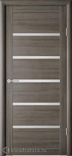 Межкомнатная дверь ALBERO (Фрегат) Вена с/о Серый кедр