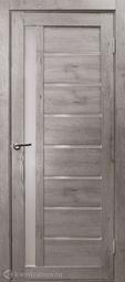 Дверь межкомнатная Дубрава Foret Light Вертикаль дуб дымчатый СТ матовое