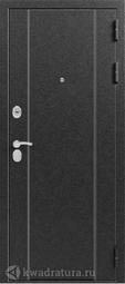 Дверь входная металлическая Эталон X-10 Серебро - Венге