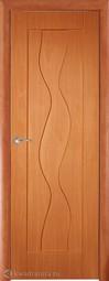 Межкомнатная дверь Дера Водопад ДГ миланский орех