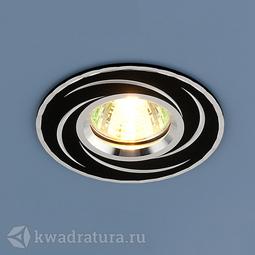 Встраиваемый точечный светильник Elektrostandard 2002 черный