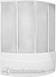 Шторка для ванны Бас Вектра (пластик Вотер, Космос)