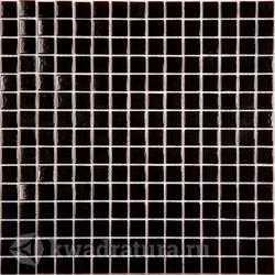 Мозаика AK01 черный  (бумага) 327x327 мм