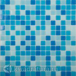 Мозаика MIX1 синий (бумага) 327x327 мм