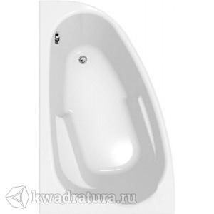 Акриловая ванна левая/правая Cersanit Joanna 150*95см