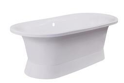 Каменная ванна Bristol Валенсия белая 175*80