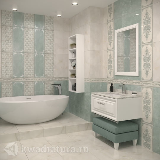 Плитка Gracia Ceramica Visconti turquoise
