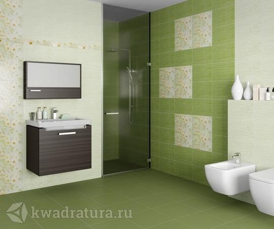 Плитка Шахтинская Сакура зеленая