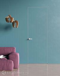 Межкомнатная дверь VELLDORIS INVISIBLE скрытого монтажа (2000*600 мм), белый грунт